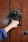 Ancient decorative handle . Stock Photography