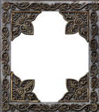 Ancient Decorative Metal Frame Royalty Free Stock Photography