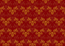 Ancient decorative pattern stock illustration