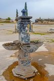 Ancient decorative turkish tap. Stock Image