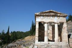Ancient delphi Stock Photo