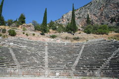 Ancient delphi Stock Photos