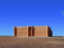 Ancient desert castle Royalty Free Stock Photos