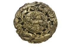 Ancient design of horse dragon Stock Photo