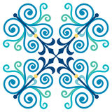Ancient design pattern Royalty Free Stock Photo