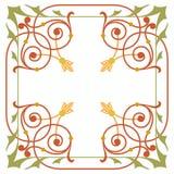 Ancient design pattern Stock Photos