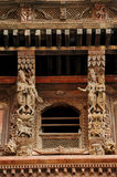 Ancient design and sculpture in the in Nasal Chowk Courtyard Royalty Free Stock Photography