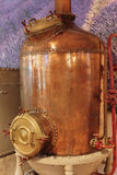 Ancient distiller for the production of perfume in Fragonard fac Royalty Free Stock Image