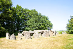 Ancient dolmen of stones Royalty Free Stock Photos