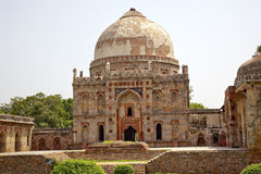 Ancient Dome Bara Gumbad Lodi New Delhi India Stock Images