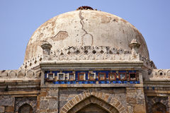 Ancient Dome Sheesh Shish Gumbad Lodi New Delhi Royalty Free Stock Photography