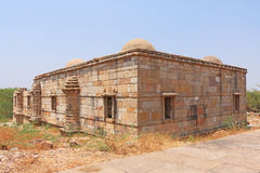 Ancient domed buildings at Pavagadh; Archaeological Park  World Royalty Free Stock Photography