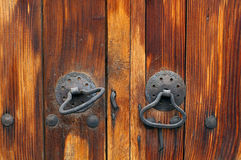 Ancient door. A photo of a ancient door,Bulgaria stock images