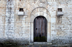 Ancient door. A photo of a ancient door,Bulgaria Royalty Free Stock Images