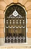 Ancient door of the palace. Royalty Free Stock Image
