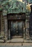 Ancient door   Angkor Wat Stock Photography