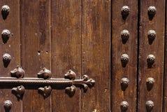 Ancient door detail Stock Photos