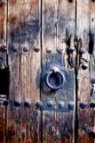 Ancient door detail Stock Photography