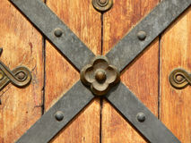 Ancient Door Element Stock Photography