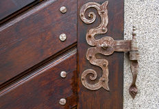 Ancient door fittings Stock Images
