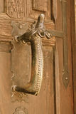 Ancient door handle, San Miguel de Allende, Mexico Stock Photos