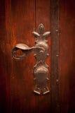 Ancient door handle Royalty Free Stock Photo