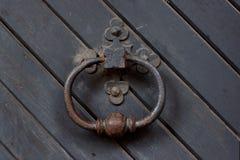 Ancient door handle Royalty Free Stock Image