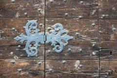 Ancient door hinge Stock Photos