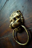 Ancient door knob Stock Photo