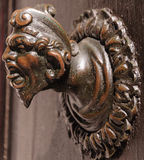 Ancient door knob Royalty Free Stock Photography