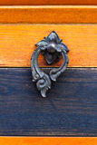 Ancient door knocker Royalty Free Stock Photography