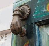 Ancient door knocker Stock Images