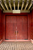 Ancient Door Korea style Royalty Free Stock Photos