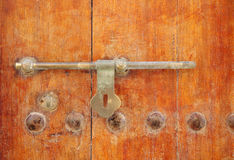 Ancient door latch Stock Image