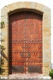 Ancient door  Moorish style Stock Photo