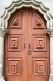 Ancient door in Palacio da Pena, Sintra, Portugal. Royalty Free Stock Images