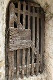 Ancient door in Villefranche de Conflent in Pyrenees Orientales, France Royalty Free Stock Photo