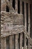 Ancient door in Villefranche de Conflent in Pyrenees Orientales, France Royalty Free Stock Images