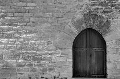 Ancient Door Royalty Free Stock Images