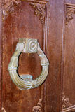 Ancient doorknob Stock Images