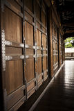 Ancient Doors. Doors at the Nijo Castle in Kyoto Japan Royalty Free Stock Images