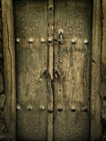 Ancient doors Royalty Free Stock Images