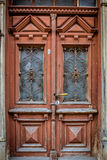 Ancient doors. Close-up image of ancient doors. Shot in Tukums, Latvia Stock Images