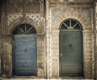 Ancient doors, Essaouira, Morocco Stock Image