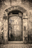 Ancient doors, Morocco Royalty Free Stock Photography