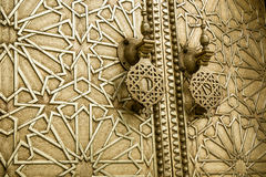 Ancient doors, Morocco Royalty Free Stock Images