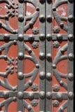 Ancient Doorway - Barcelona Spain Stock Images
