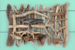Ancient Driftwood Stock Photography