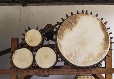 Ancient drum Royalty Free Stock Images