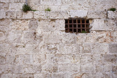 Ancient Dungeon Window Stock Photography